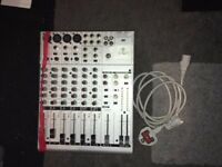 For sale is a Behringer Eurorack UB1204-PRO Mixer with power lead.