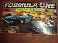 Scalextric vintage Formula 1 set