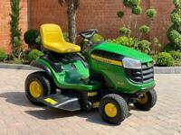 """John Deere X126 Ride on mower - 42"""" deck - lawnmower - Honda / Kubota / Toro"""