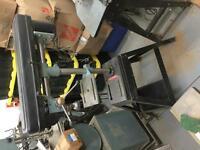Perceuse à colonne/ Drill press, delta radial arm