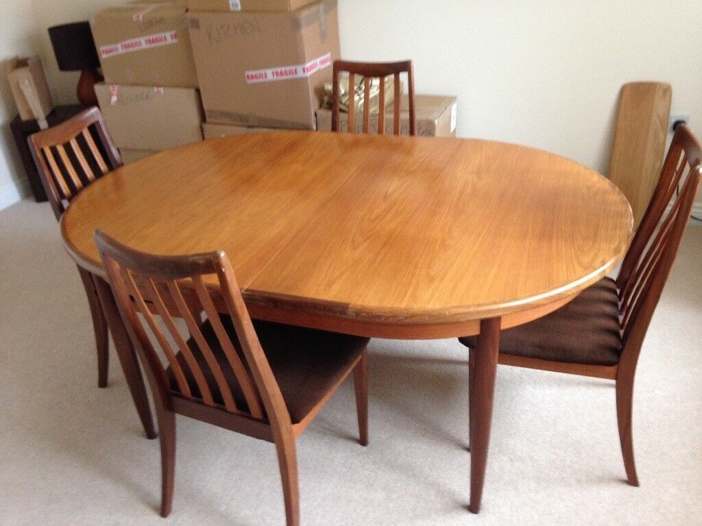 G Plan dining room table