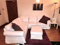 Large Ikea 6 seater sofa