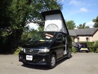 NEW SHAPE LATE PRODUCTION HI SPEC MAZDA BONGO MOTOR CARAVAN/MOTOR HOME FULL CONVERSION/MAINS