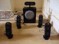 Logitech X-530 5.1 speakers
