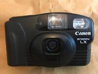35mm canon snappy LX point and shoot camera (film camera)