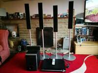 Sony surround sound system and DVD player