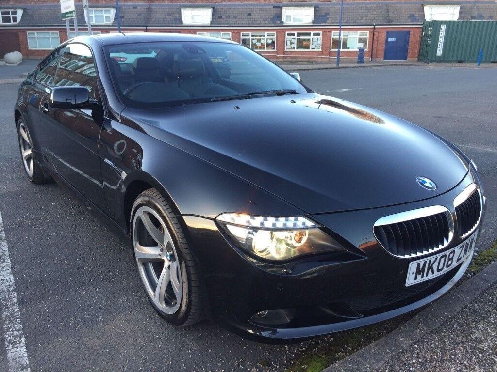 BMW 6 series 635d black diesel msport