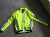 Men's XL Funkier Bike cycling jacket high visibilty