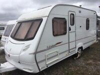 Ace Jubilee Envoy Fixed Bed 4 Berth Caravan