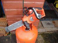 Black & decker 18v battery chainsaw