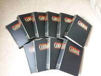 Complete full set of the Murder Casebook - investigations into the ultimate crime