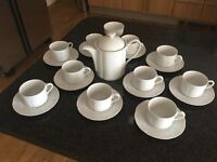 MARKS & SPENCERS STAMFORD WHITE TEA SET