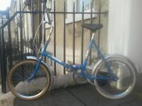 Vintage foldaway bike for sale