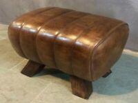 Brand New Small Leather Pommel Horse Stool