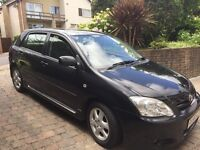Toyota Corolla 56 reg, ultra-reliable, private sale. Excellent condition for its age. Must see.
