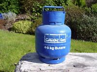 Calor Gas 4.5kg butane gas cylinder - full of gas