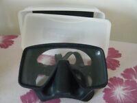 Diving Equipment, 1 black Beaver Mask, nearly new