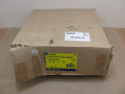 Nib Square D Pfcd4010rf Power Factor Capacitor 480v 10kvar Fused Nema 3r 12a 3ph