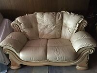 Small Sofa real leather