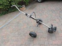 3 wheel golf trolley