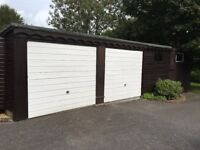Single and Double Garage/storage spaces available in Ashington West Sussex