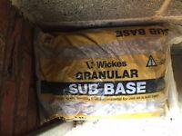 Wickes Granular Sub Base Bags