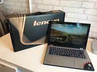 "Lenovo Yoga 2 Laptop / Tablet 13.3"" Screen 500GBHD 4GB Ram"