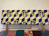 Leeds United LUFC Double Headboard
