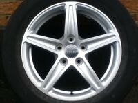 "16"" Genuine Audi A3 (8V) 5x112 Alloys Tyres Wheels Seat Skoda Volkswagen"