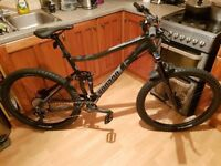 """Voodoo Canzo Full Suspension Mens Mountain Bike 20"""""""
