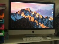 """iMac 27"""" (late 2013 model) with Applecare, immaculate and in box"""