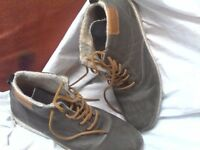 2 pairs of mens casual boots bargain 5.00 each