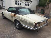 1976 Daimler Sovereign Coupe 2 Door 4.2 Auto Jaguar Xjc Spares or Repairs Barn Find