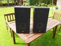 PAIR OF OLD SCHOOL JVC SPX440 BKE SPEAKERS ,STILL FOR SALE, COLLECTION FROM MAP ON AD FORFAR
