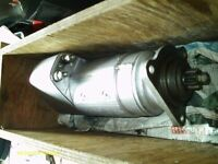 BOSCH 9 001 411009 ELECTRIC STARTER MOTOR USED ONLY 2 OR 3 TIMES IN WOODEN BOX - £800
