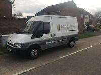 Ford Transit 2005, Mwb, Semi high top. Will start will only go into 3rd and 4th gear.