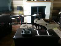 RC nitro helicopter