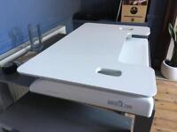 Varidesk Exec 48 White standing desk RRP £450