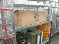 cage trolly with shelf on castors