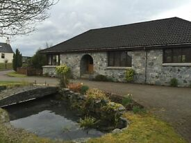 Four Bedroom spacious detached bungalow for sale in quiet cul-de-sac at Tomonie, Fort William.
