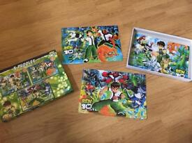 Ben 10 Jigsaws