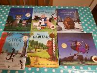The Gruffalo and other Julia Donaldson and Axel Scheffler books