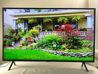 Samsung 43 inch super slim 4K Ultra HD HDR Smart TV, latest model great condition, like new
