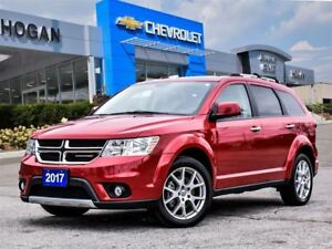 2017 Dodge Journey GT 7 Passenger, Leather, Heated Steering Whee
