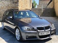 ✅ BMW 335D M SPORT TOURING + PAN ROOF + SAT NAV + XENONS + LEATHERS (535D/330D/530D/A4/A6)