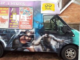 """MR. WHIPPY SOFT SERVE & HARD SCOOP ICE CREAM VAN for sale"