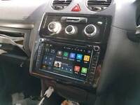 Android headunit sat nav, bluetooth, wifi, for golf, caddy, vw, audi, skoda, seat