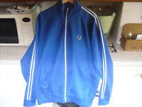 MENS XXL FRED PERRY TRACK TOP / JACKET, SUPERB CONDITION.