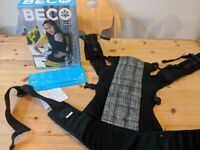 BECO Baby Carrier (Gemini) **good condition** with box and instructions