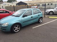 VAUXHALL CORSA 55 PLATE NEW MOT LOW MILEAGE
